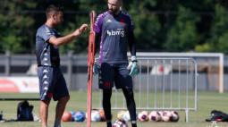 Vasco trabalha focado no clássico contra o Flamengo para evitar eliminação