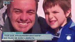 """""""Tive que amadurecer bastante"""" diz filho de Gugu Liberato"""