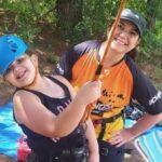 Mãe e filha estão entre as vítimas de tromba d'água em cachoeira; cunhado também morreu