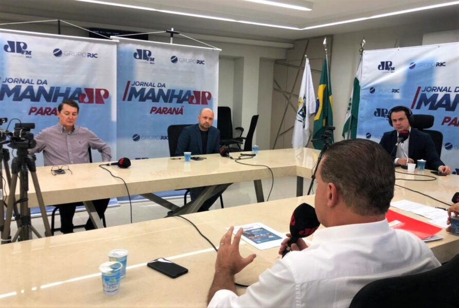 Grupo RIC abre espaço para discussão sobre novo modelo de pedágio no Paraná