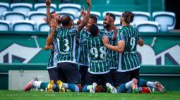No retorno ao Couto Pereira, Coritiba goleia o Toledo por 5 a 1