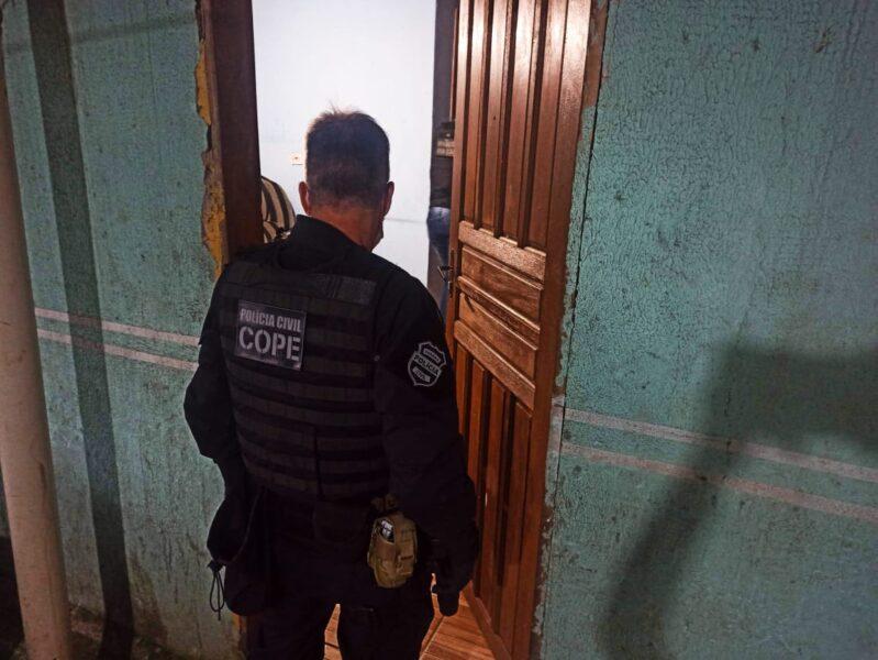 PCPR cumpre mandados contra suspeitos de envolvimento em homicídio no Tatuquara