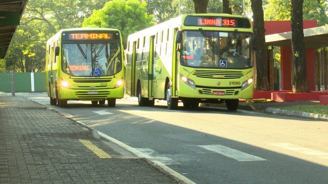 Impasse no transporte coletivo de Foz do Iguaçu completa uma semana