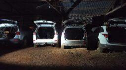 Cinco veículos são apreendidos em desmanches localizados em município da região de Umuarama