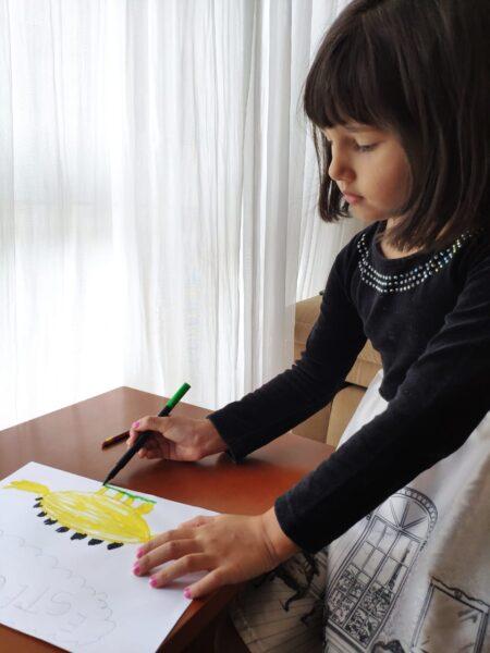 """Concurso de desenho infantil """"Meu Dino Favorito"""" já recebeu mais de 100 desenhos"""