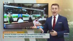 Idosos podem voltar ao transporte público, mas precisam cumprir regras em Cascavel