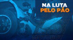 Perigo em 2 rodas: na mesma noite, três entregadores ficam feridos em acidentes em Londrina
