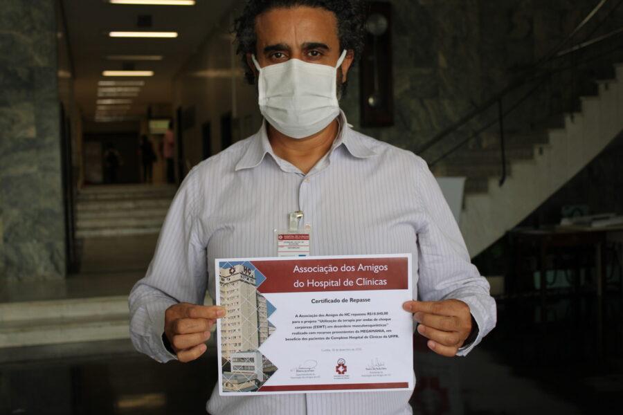 Amigos do HC realizam a aquisição de diversos itens para o Hospital de Clínicas com recursos da Megamania