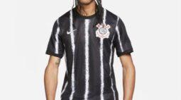 Imagem do suposto novo segundo uniforme do Corinthians vaza: veja foto