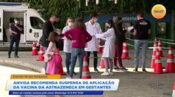 Anvisa recomenda suspensão de aplicação da vacina da Astrazeneca em gestantes