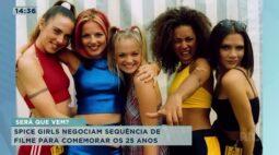 Spice girls negociam sequência de filme para comemorar os 25 anos