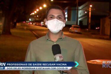 Profissionais da saúde que recusaram vacina morreram de COVID-19 em Londrina