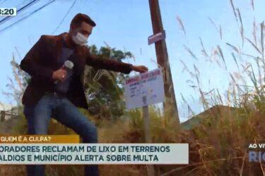 Cidade Alerta faz raio x do descaso e encontra terrenos abandonados