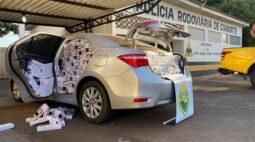 44 mil maços de cigarros contrabandeados são apreendidos em Cianorte