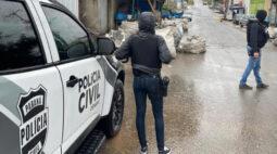 Jovem é preso em flagrante por tráfico de drogas no Parolin
