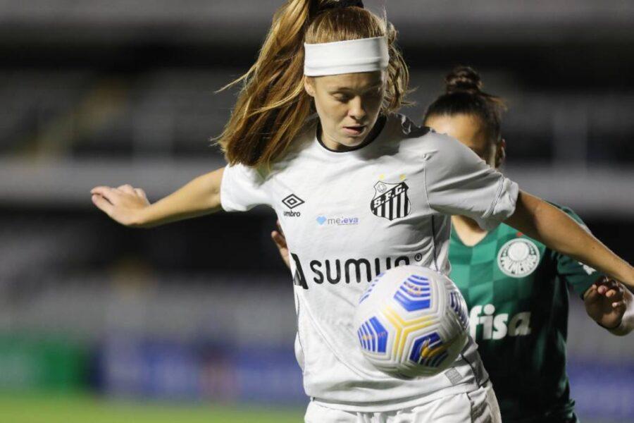 Em clássico movimentado, Santos e Palmeiras empatam sem gols pelo Brasileiro Feminino