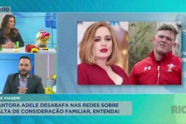 Cantora Adele desabafa nas redes sociais sobre exposed feito pelo irmão