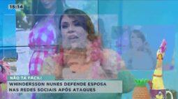 Whindersson nunes defende esposa nas redes sociais após ataques