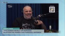 João Gordo revela um romance inusitado no mundo dos famosos
