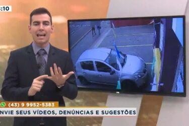 Flagrante de crime no centro de Londrina contra duas adolescentes