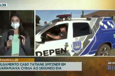 Julgamento caso Tatiane Spitzner em Guarapuava chega ao segundo dia