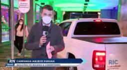 Campanha aquece Paraná para doação de roupas e cobertores