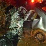 Criança de 8 anos e padrasto morrem em acidente na PR-092, em Andirá