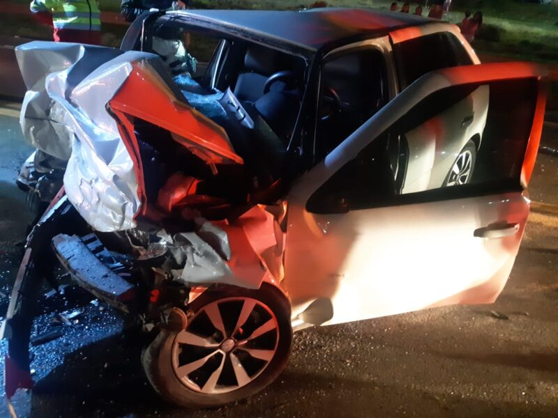 Mulher morre em acidente na BR-277, na região de Laranjeiras do Sul