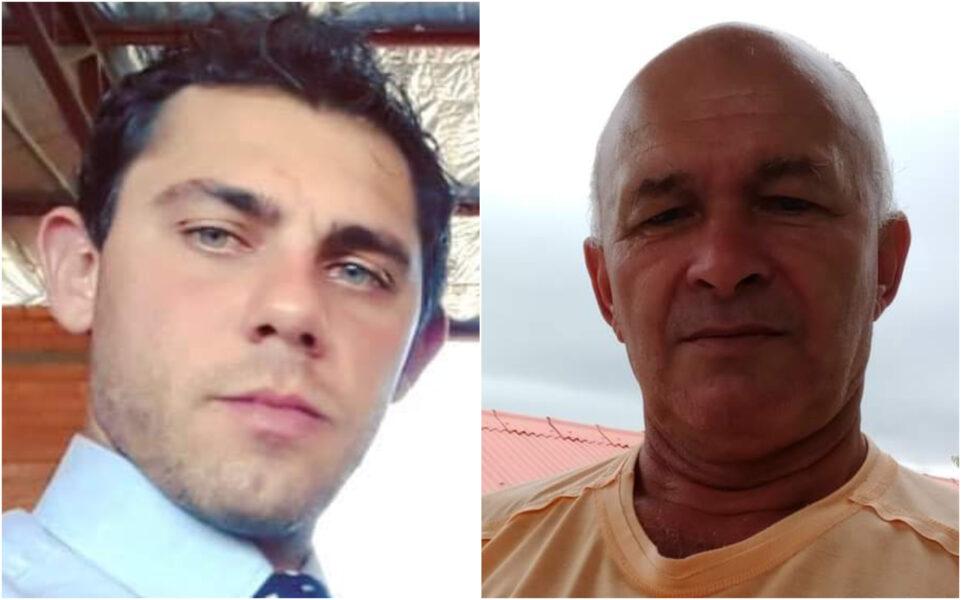 Caminhoneiros morrem carbonizados em acidente na PR-280, em Vitorino