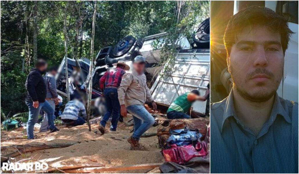 Pai e filho de apenas 2 anos morrem em acidente no oeste do Paraná