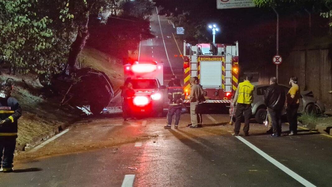 Motorista morre após acidente na Av. Rio Branco, em Londrina