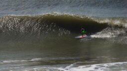 Confira imagens do último swell paranaense
