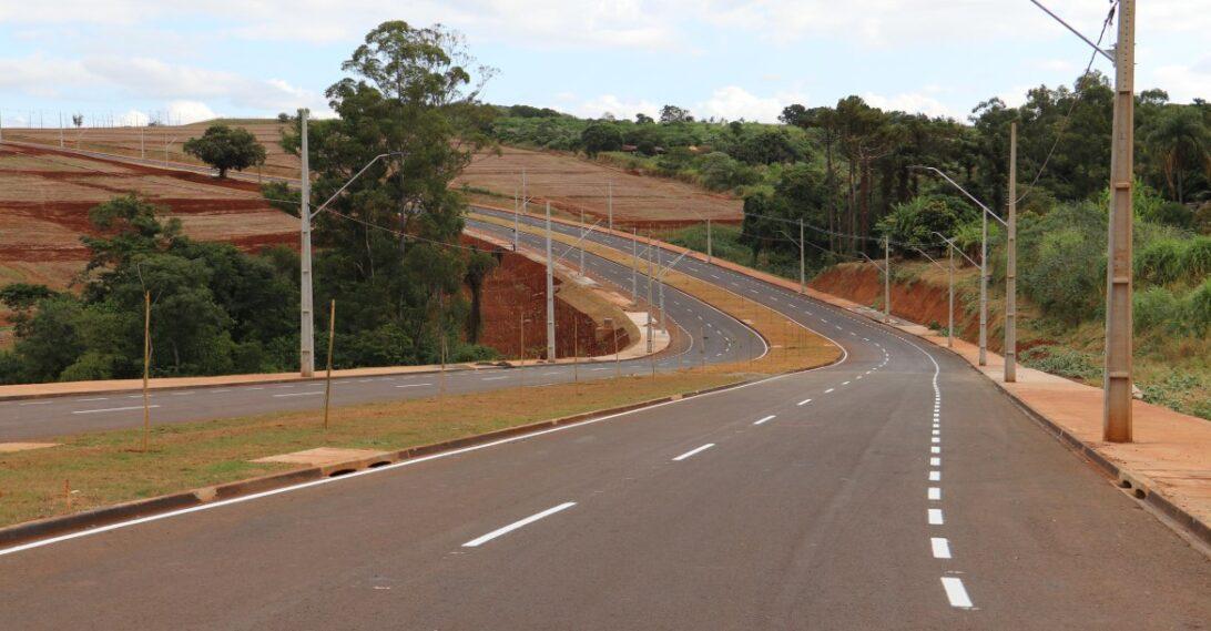Londrina libera obra no trecho 3 do Arco Leste, nesta segunda-feira (10)
