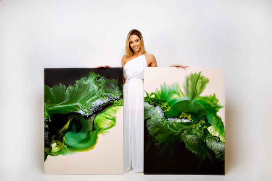 Artista Plástica de Foz transforma paixão em atividade principal na pandemia