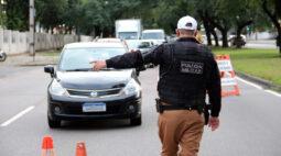 Prisões de motoristas por embriaguez ao volante crescem 3,4%, em Curitiba