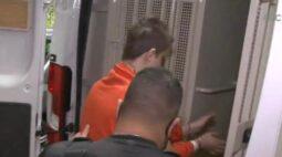 Suspeito de chacina em creche em SC sai do hospital já com uniforme do presídio