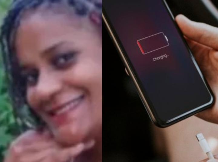 Mulher morre após levar choque enquanto fazia ligação com o celular carregando