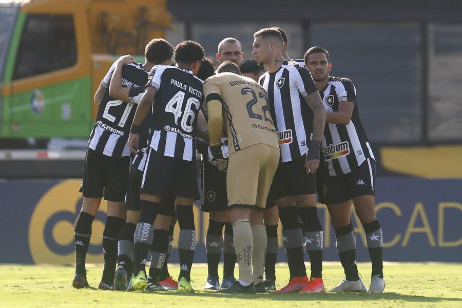 Jogadores do Botafogo elogiam atuação do time após derrota nos pênaltis