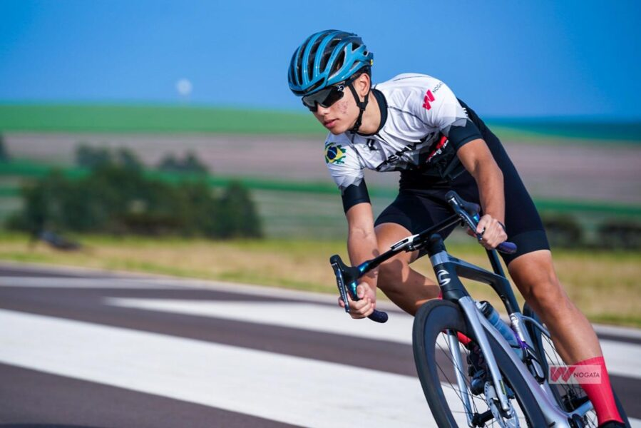 Atleta de Cascavel, JP Nogata, confirma participação na Volta Ciclística de Goiás