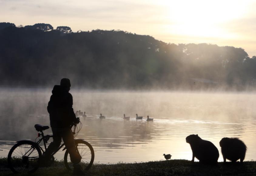Cidades do Paraná registram temperatura abaixo de 10°C durante a madrugada