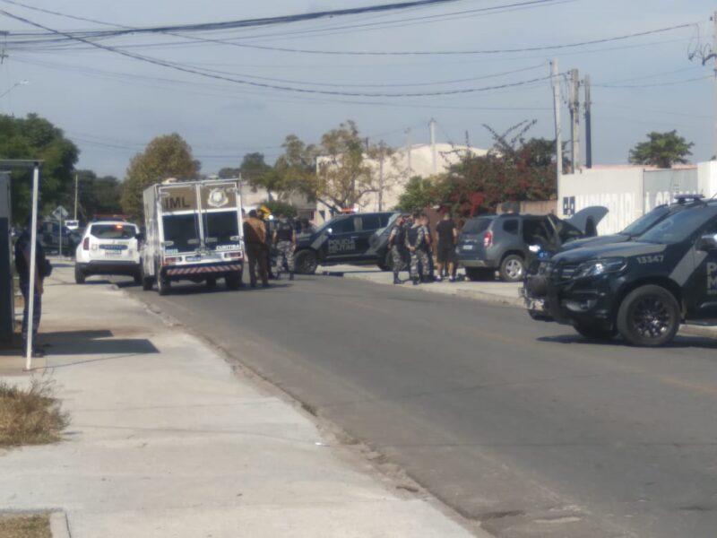 Dois confrontos ocorrem quase ao mesmo tempo em Pinhais