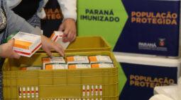 Paraná recebe novo lote da Coronavac nesta sexta (14) para aplicação da 1ª e 2ª dose