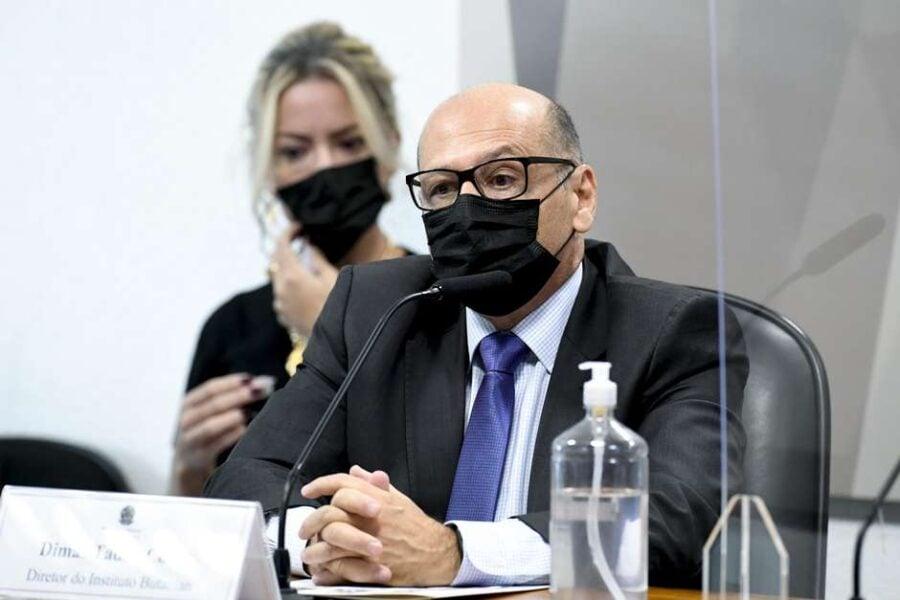 Brasil perdeu 60 milhões de doses da CoronaVac em 2020, diz Dimas Covas