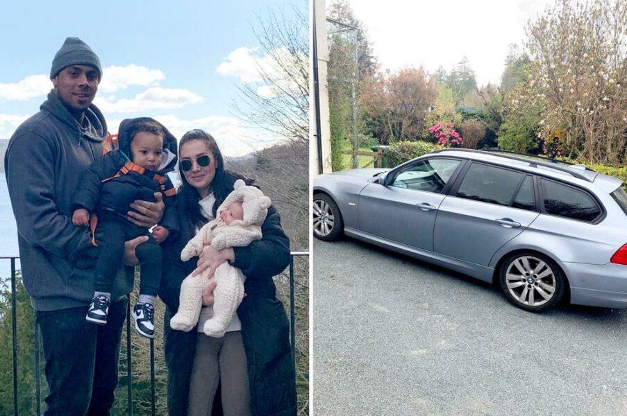 Mulher dá luz a bebê de 3,5 kg em carro a 90 km/h