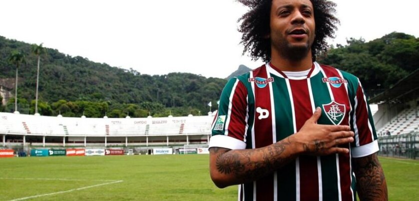 Torcida do Fluminense inicia campanha por retorno de Marcelo