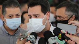 Em Londrina, Ratinho Jr diz que medidas mais restritivas serão aplicadas conforme a região