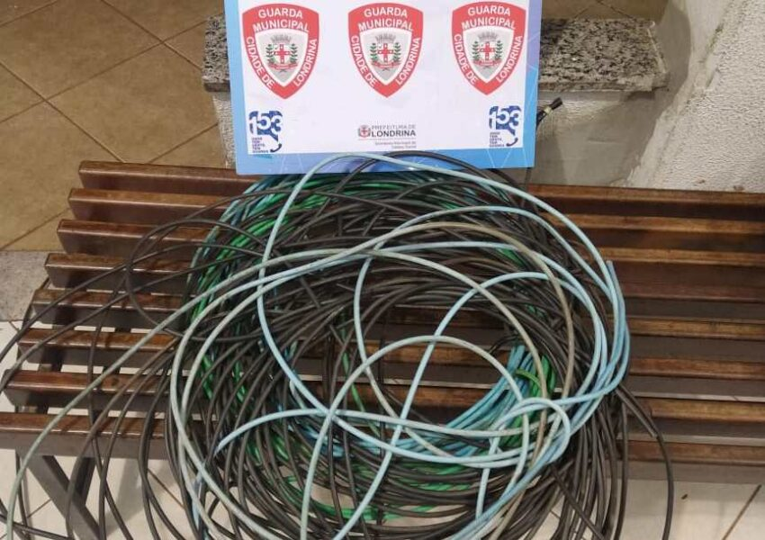 Prédio público de Londrina tem 40 metros de cabo elétrico furtados