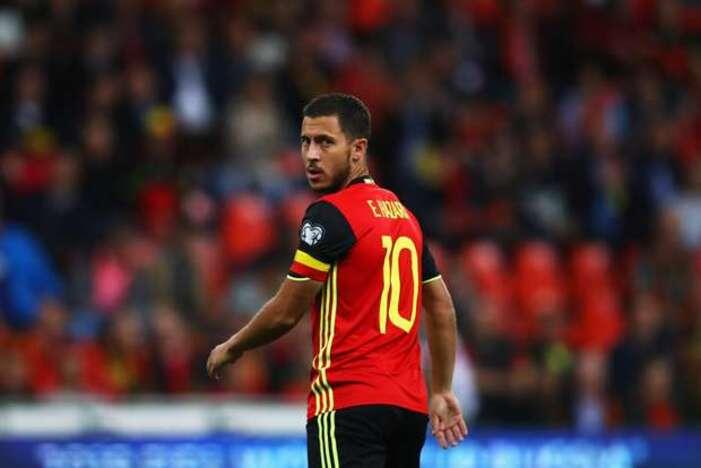"""Técnico da Bélgica sobre Eden Hazard: """"Está trabalhando muito duro para recuperar a forma"""""""