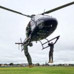 Polícia Civil realiza treinamento aerotático com policiais civis