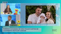 Famosa é acusada de não pagar custos de casamento feito em Cancún